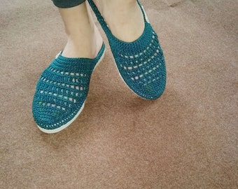 Women Slip-on Shoes(crochet)