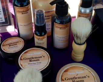 Mens Aftershave Cream  Lavender Cognac