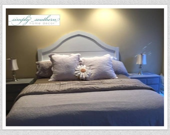 Cottage Headboard/ Bed