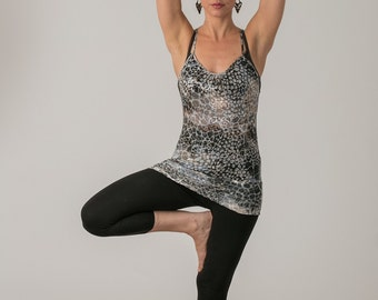 Black Leggings , Cotton Lycra Leggings, High Waist Tights , Basic Black Tights , Black Yoga Pants