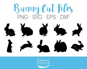 Bunny SVG, Bunny DXF, Rabbit SVG, Rabbit Dxf, Hare Svg, Easter Svg, Easter Bunny Svg, Easter Rabbit Svg, Svg Files for Cricut, Cricut Svg