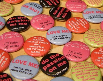 button pack - Valentine's Day Lovers