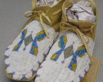 Made to Order Women's Lakota  Moccasins soft sole