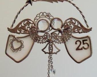 Match Made in Heaven (R) 25th Anniversary Ornament