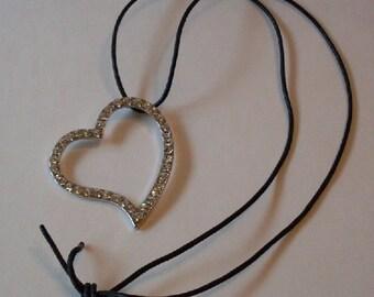 Designer Chic Rhinestone Heart  LJO CollectionJewelry