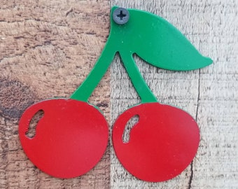 Cherry Festival Metal Ornaments~Holidays~Home Decor-Summer Decor~Family Reunions~Gifts