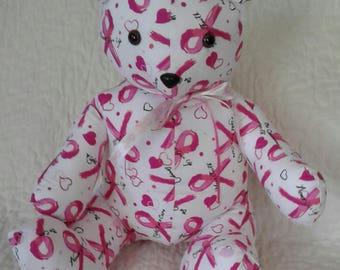 Pink Ribbon Survivor Bear