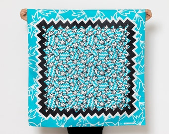 Ivy Furoshiki. Japanese eco wrapping textile/scarf
