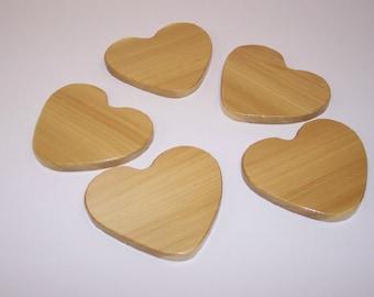 HEART Coaster Set (set of 5)