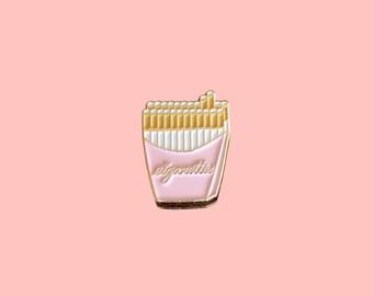 SALE - Enamel Pin / Lapel Pin - Cigarettes