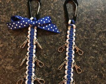 Cheer Bow Holder- Paracord