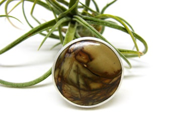 Cherry Creek Jasper Silver Ring