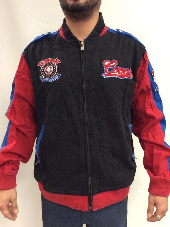 Vintage 80s 90s Retro Multicolored Coogi Throwback Jacket YBwYpfl