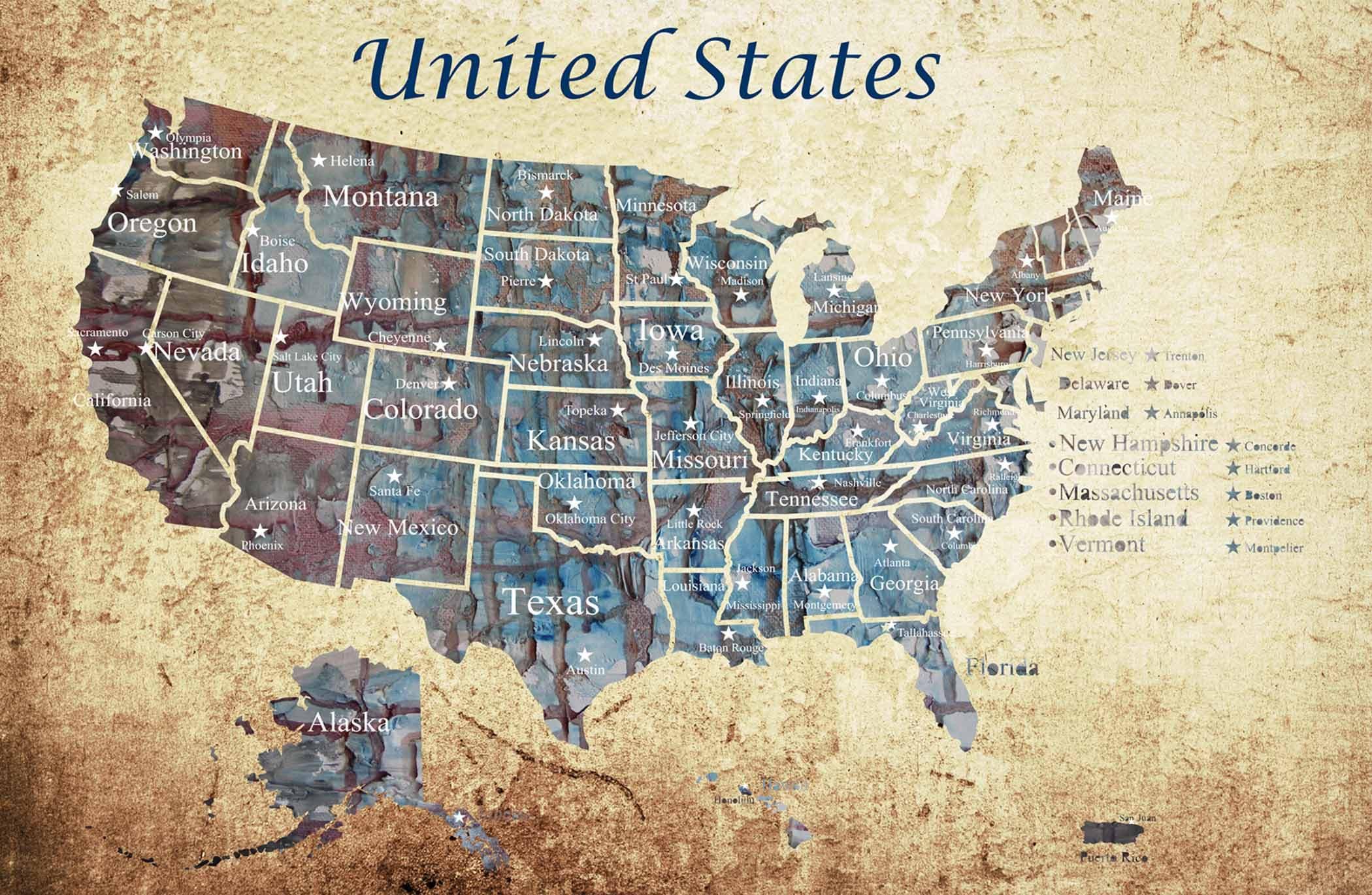 Push Pin USA MapUSA PushpinLarge Pushpin MapUS