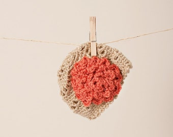 Newborn/Toddler Crocheted Pinwheel Hat With Oversize Flower/Baby Photo Prop