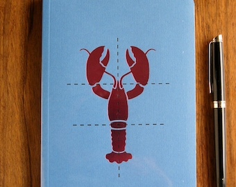 Lobster notebook as featured in Delicious magazine | Jamie Oliver