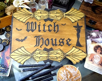 Signboard, Witch House - I