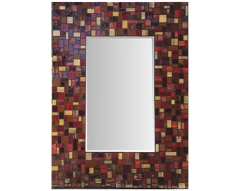 Stained Glass Mosaic Miror
