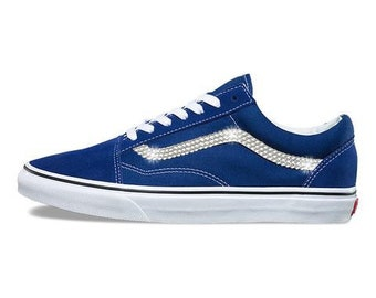 Vans Old Skool- Crystallized Swarovski- Estate Blue