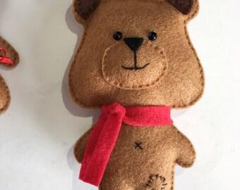 Daddy Bear Hanging Plush