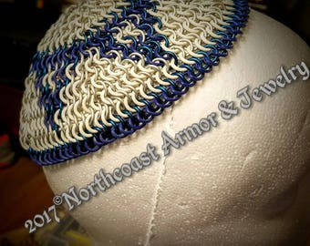 Custom Made Chainmail Yarmulke