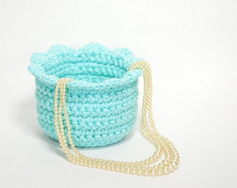 Crocheted Bowls - Gifts for Mom - Crocheted Basket - Decorative Baskets - Gift Baskets for Women - Baskets for Storage - Trinket Bowl