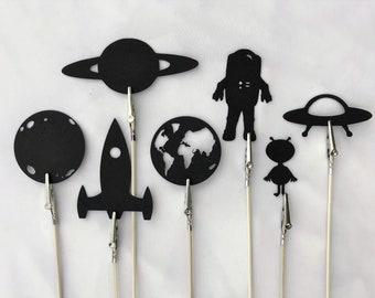 Outer Space Shadow Puppets