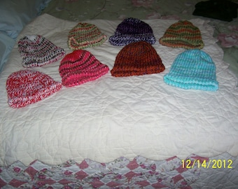 Beanie style hat, various colors to choose from, really warm