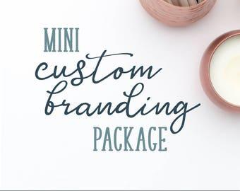 Custom Mini Branding Design, Bespoke Branding Design, Custom Logo, OOAK Logo Design, Business Branding, Logo Design, Branding Package