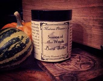 Season of the Witch Magical Autumn All Natural Fall Bath Salt