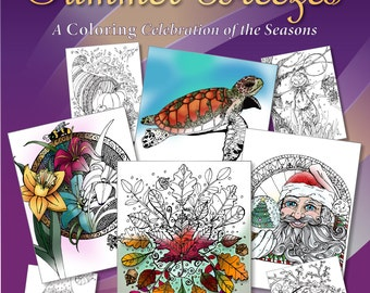 Snowflakes to Summer Breezes: A Coloring Celebration of the Seasons (PDF)