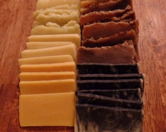 Handmade Soap Sampler Pack 8 oz