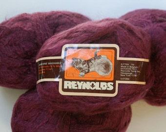 SALE - REYNOLDS KITTEN yarn, vintage