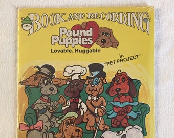 Pound Puppies Book and Record