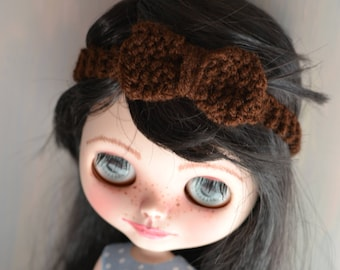 Dolls Bow Headband Other Colours