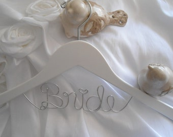 Bride Hanger, Bridal Hanger, Wedding DressHanger, Wedding Hanger, Name Hanger, Bridal Hangers, Bride Hangers, Wedding Hangers, Wedding Dress