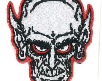 "3"" Nosferatu Vampire Iron-On Patch Monster Horror Movie Marilyn Manson Rob Zombie Punk Rock Spook Show"