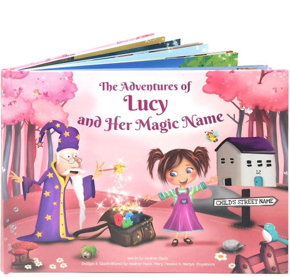 Personalized Story Books for Girls
