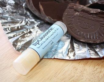 Free Shipping - Vegan Lip Balm - Chocolate Orange - Handmade