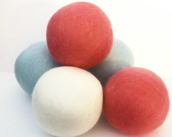 Wool Dryer Balls... Black Kettle
