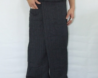 100% cotton thai fishermanpants handmade by my mum long legs style 040