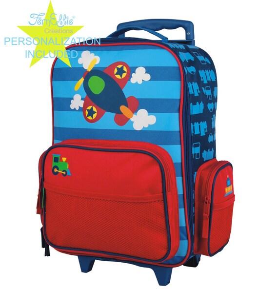 AIRPLANE Stephen Joseph Classic Rolling luggage