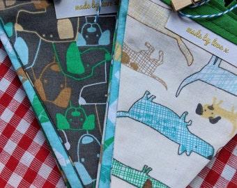 Dog fabric bunting / garland / pennant - Boy's Bestfriend - madebylove