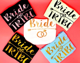 Bride Shirt, Bridesmaid Tank Top, Bachelorette Party Tank Tops, Bride Squad, Custom Bachelorette Shirt, Wedding Party Tanks, Bridal Shower