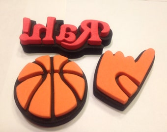 3 piece Basketball stamp set, 40-65 mm (BR6)