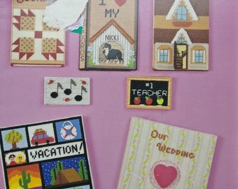 Book Covers Plastic Canvas Book by Kappie