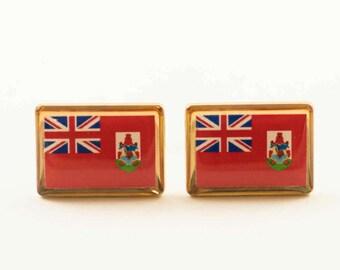 Bermuda Flag Cufflinks
