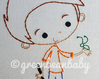 Nature kids- Bugs and Butterflies Digital Embroidery Patterns