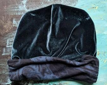 Boyfriend Slouchy Hat Upcycled Hat Beanie Baggy Hat Slouch Beanie Hipster Beanie Oversized Beanie Slouchy Beanie Boho Beanie Knit Slouchy