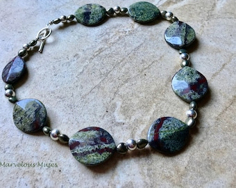 Dragons Blood Jasper Necklace